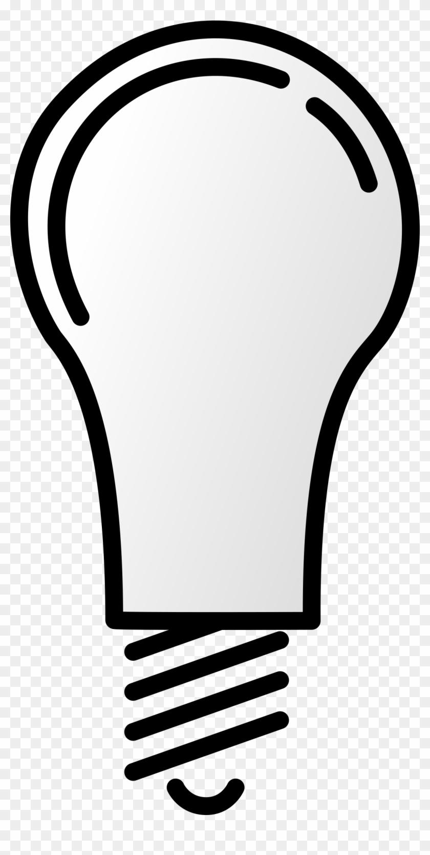 Lightbulb Off Clip Art - Light Bulb Clip Art #543884