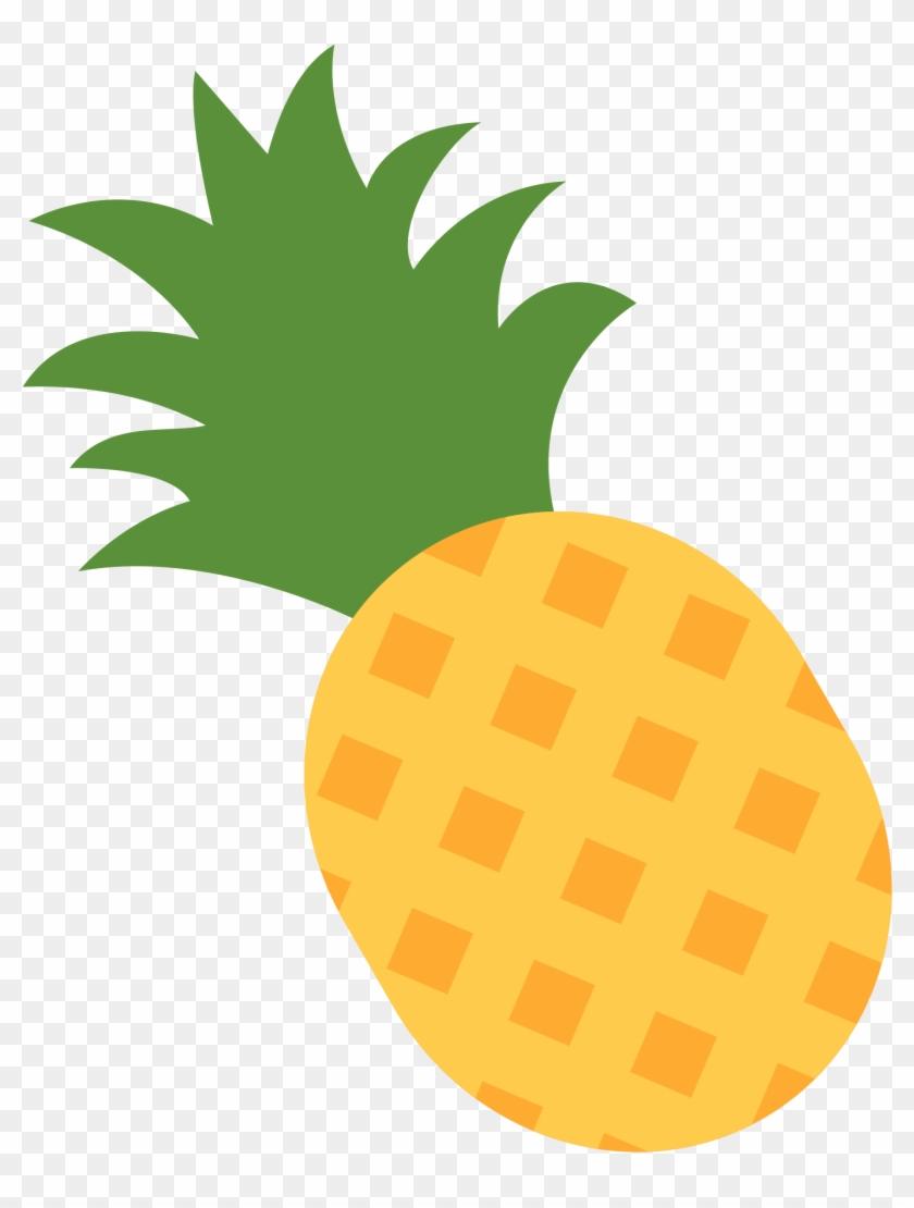 Free Pineapple Svg - Pineapple Emoji - Free Transparent PNG