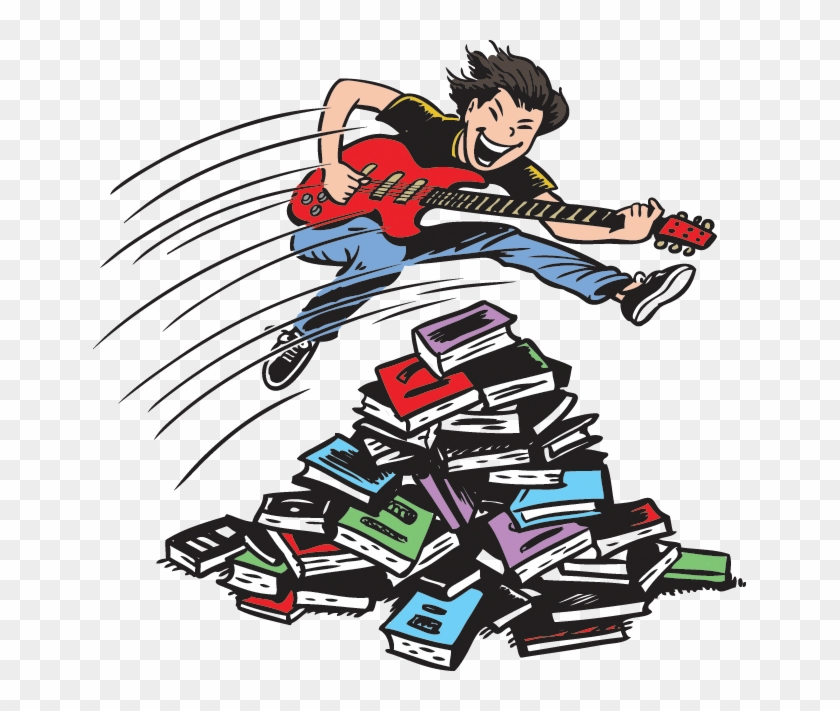 Image Of Book Rocker - Summer Reading Program Ohio 2018 Libraries Rock #544249