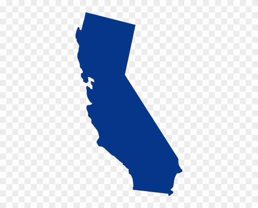 California State Outline Blue Free Transparent Png Clipart Images Download