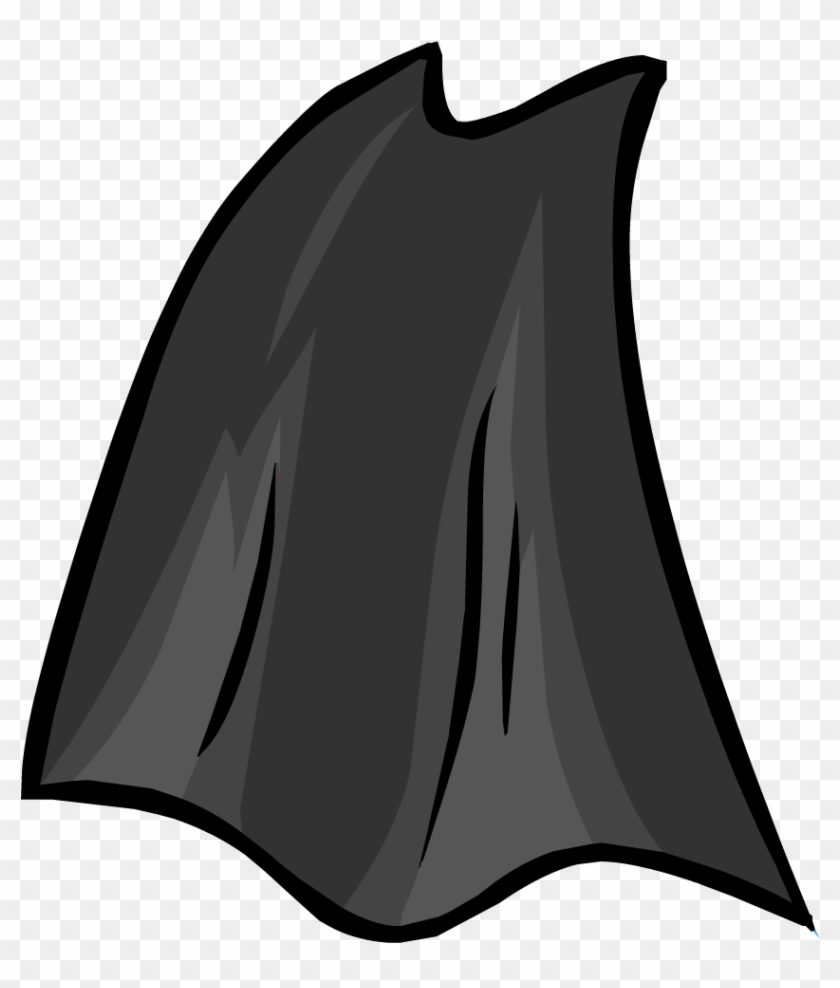 Superhero Cape Clipart - Cape Clipart Black And White #94469