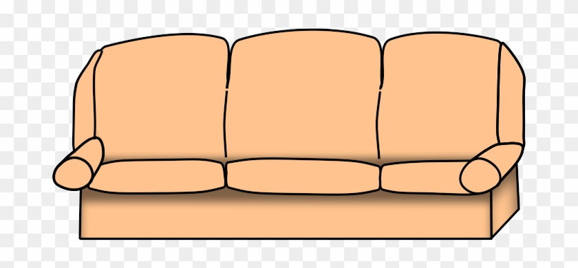 Clip Arts Related To - Couch Clipart Transparent #94478
