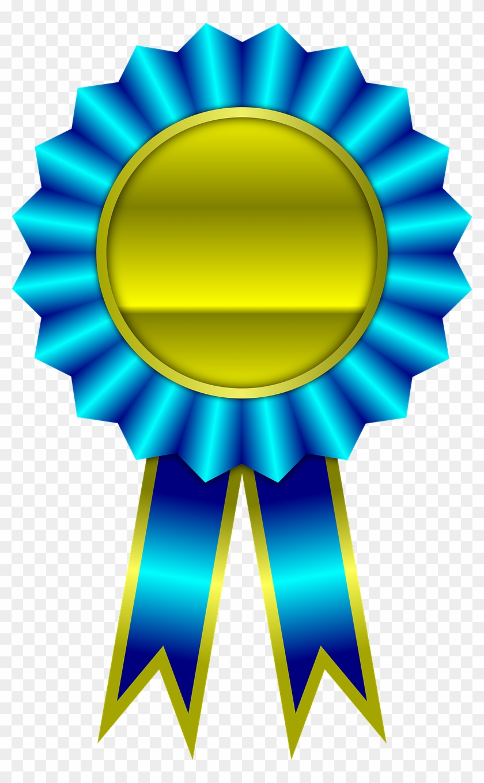 Award, Blue, Ribbon, Winner, Achievement - Ribbon Winner #94499