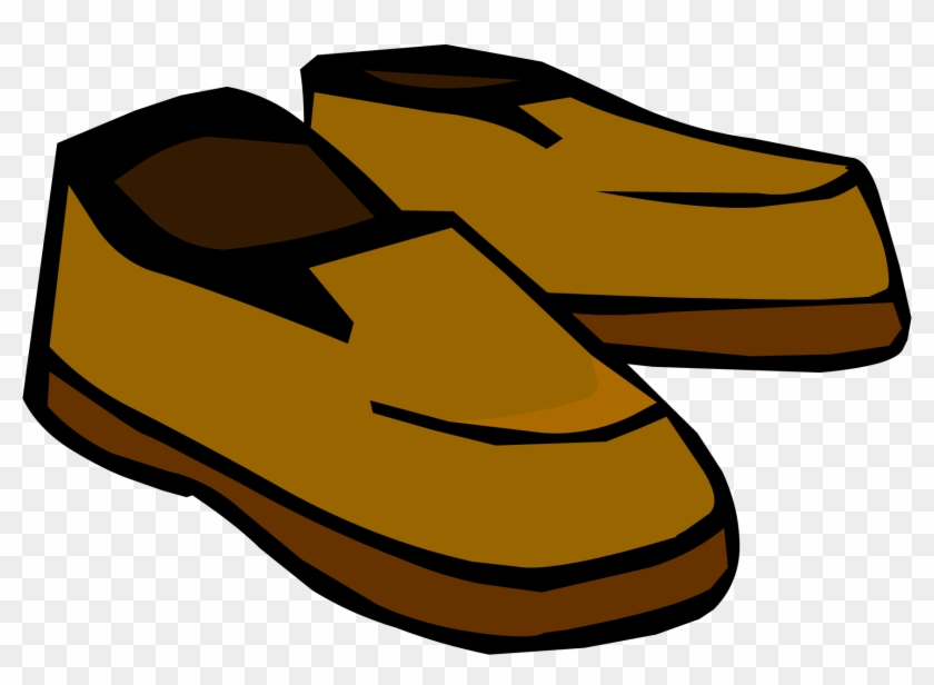 Editable Clip Art - Club Penguin Shoes #94527
