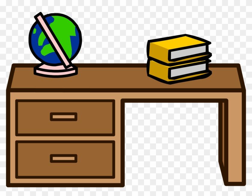 Student Clip Art - Club Penguin Desk #94539