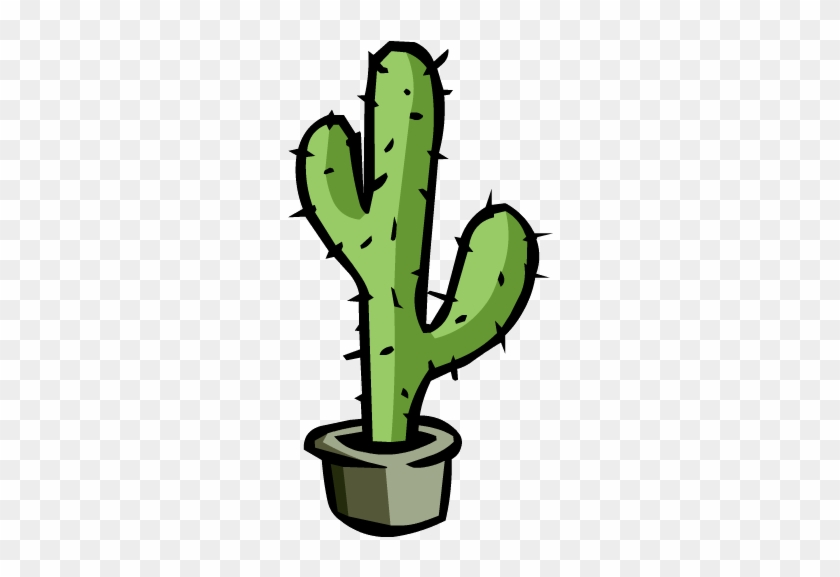 Image - Large Cactus - Png - Club Penguin Wiki - The - Cactus En Png #94567
