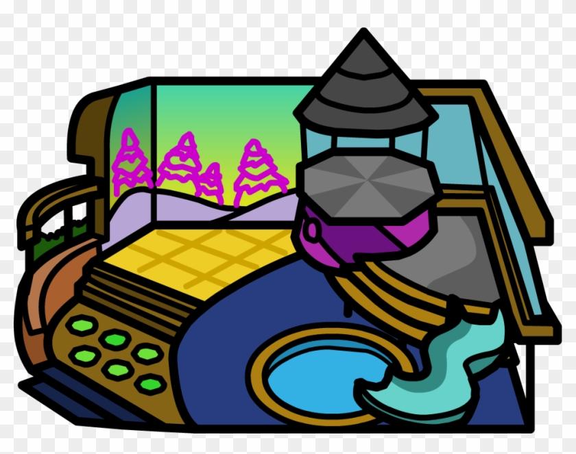 Club Penguin Wiki - Club Penguin Igloo Id #94587