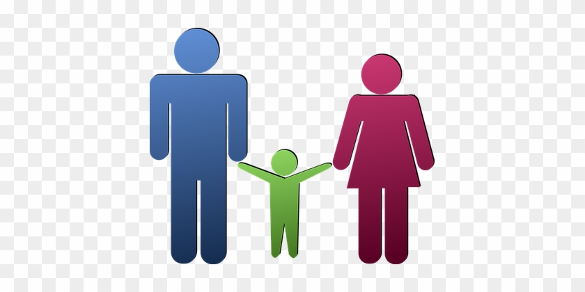Child Family Father Human Mother People Pe - Padre Y Madre Png #94670