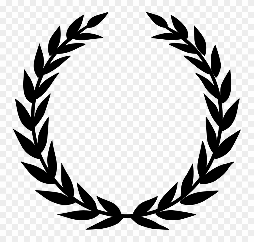 Wreath Clipart Award - Laurel Wreath #94692