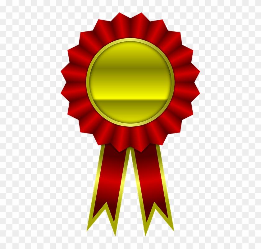 Award, Red, Ribbon, Winner, Achievement - Cinta De Premio Png #94701
