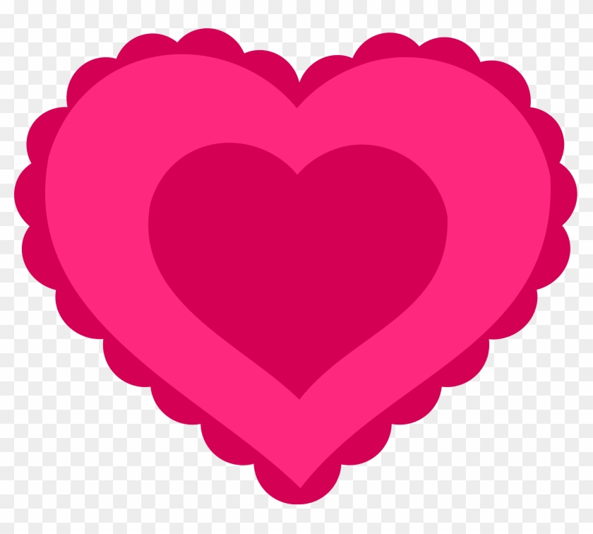 The Empty Hearts Are For Decorating Your Classroom - Valentine Heart Clip Art #94709