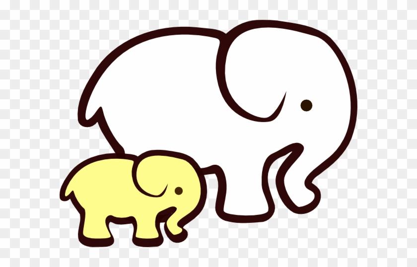 Ivory Ella Elephant Drawing #94718