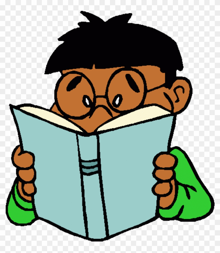 Images - Kid Reading Clipart #94787