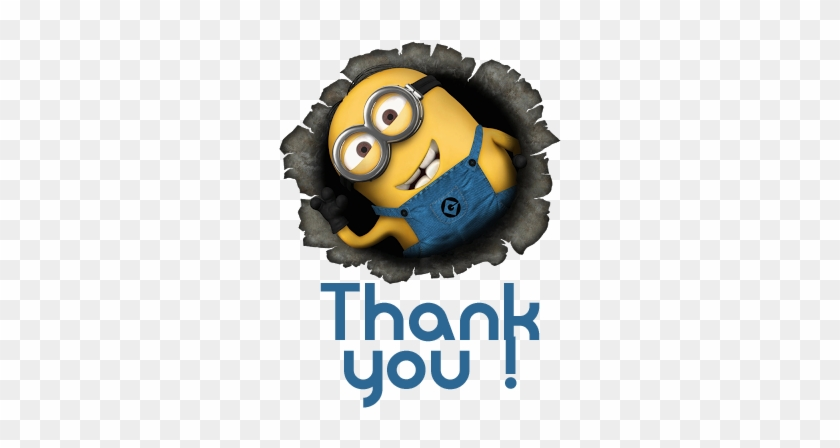 Minion Thank You Clipart & Minion Thank You Clip Art - Minions Images Hd #94845
