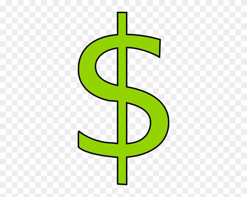 Green Dollar Sign Clipart Cartoon Dollar Sign Transparent