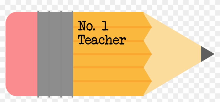 1 Teacher Free Printable Pencil Gift Tag - Pencil Teacher Appreciation Day #94917