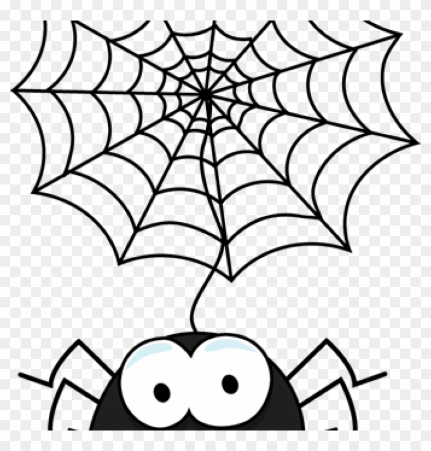 Spider Web Clipart Spider Web Border Clipart Clipart - Spider Trick Or Treat Canvas Halloween Treat Bag #94935