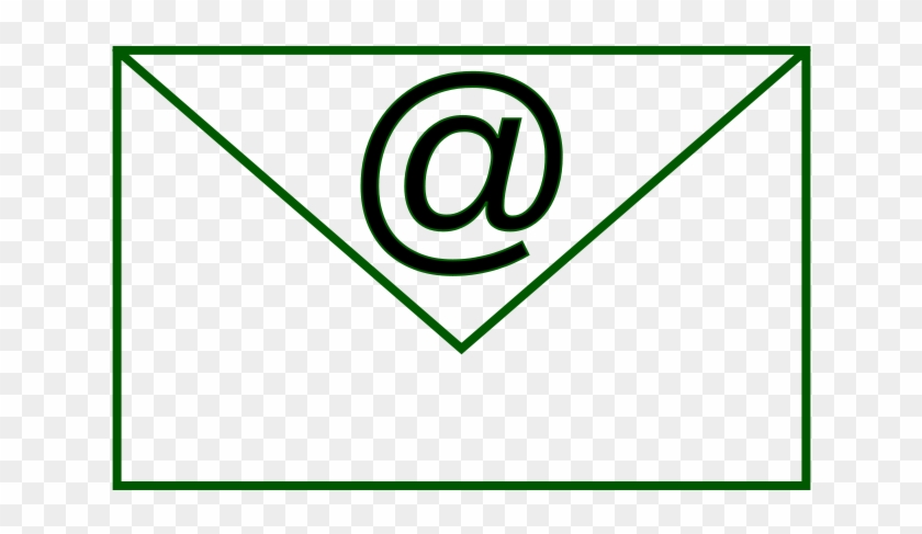 Rectangle Simple 1 Free Email - Email Clipart Black And White #94938
