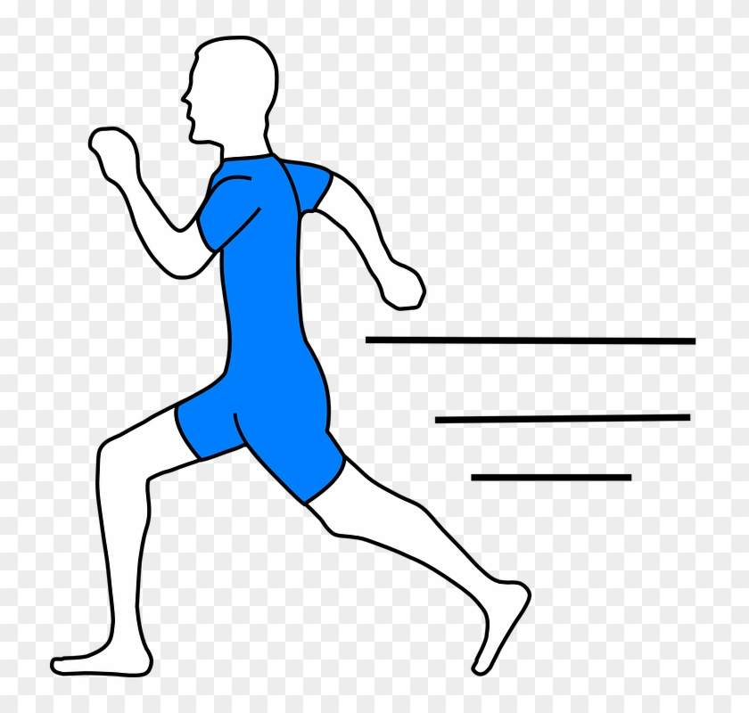 Thank You To George Piper - Running Man Clip Art #94944