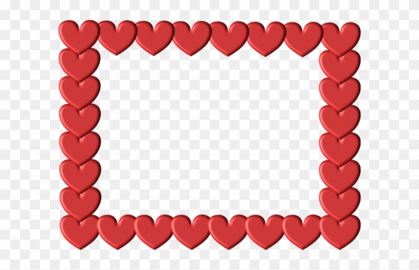 Red Heart Frame Image - Red Heart Frame Image #94950