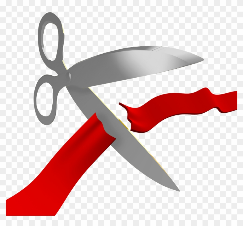 Thank You Clipart Download - Opening Scissors Png #94954