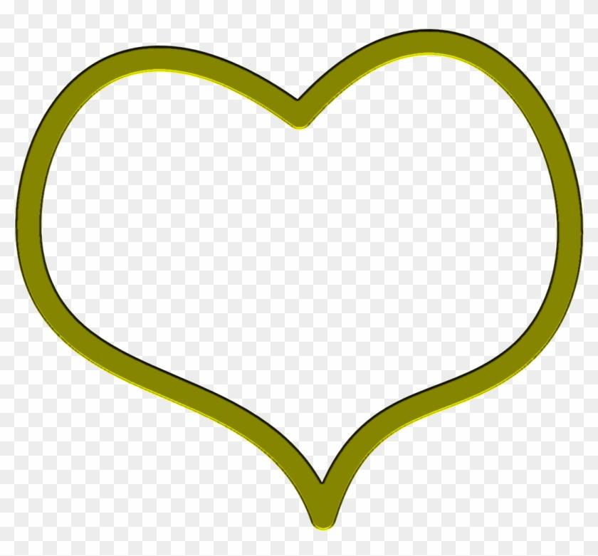 Heart Frame Clipart - Heart Transparent Inside #94969