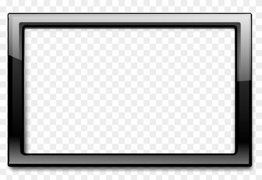 Heart Frame Clip Art Black And White - Black Frame #95039