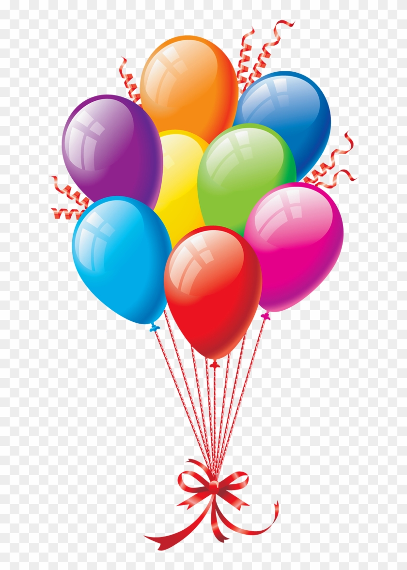 Birthday Cake Balloon Happy To You Clip Art