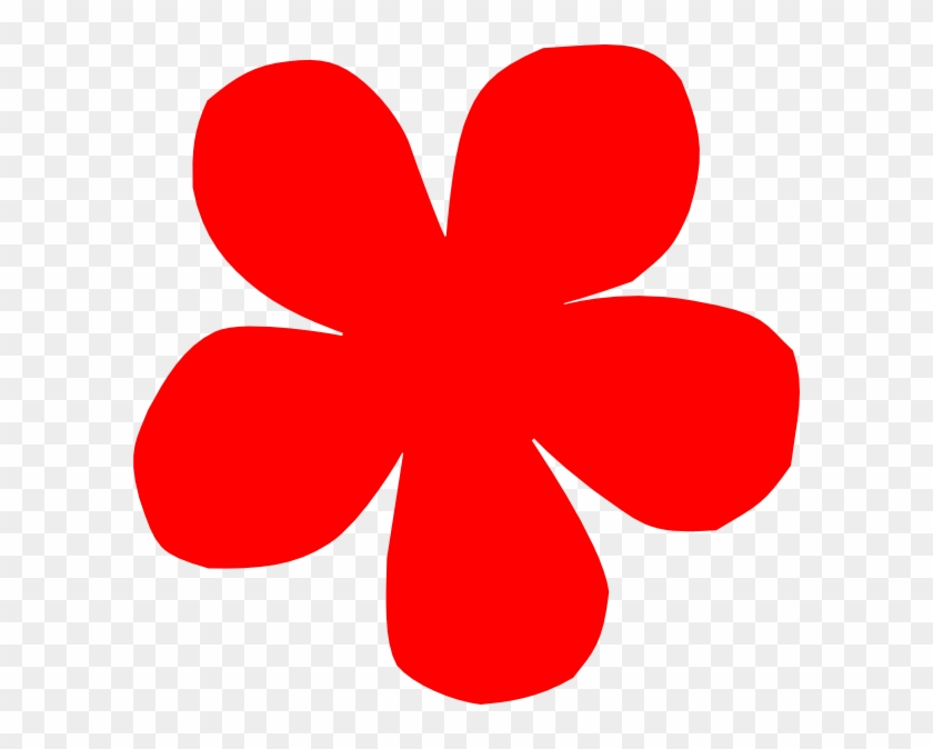 Red Flower Clipart Free #95239