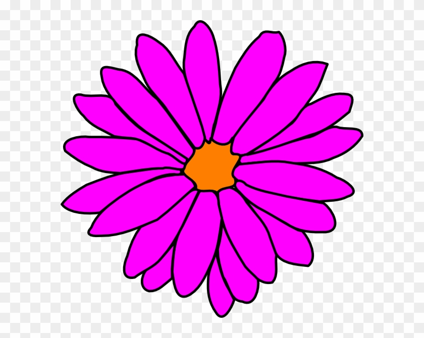 Pink Flower Clipart Girly Flower - Kafka Encryption #95258
