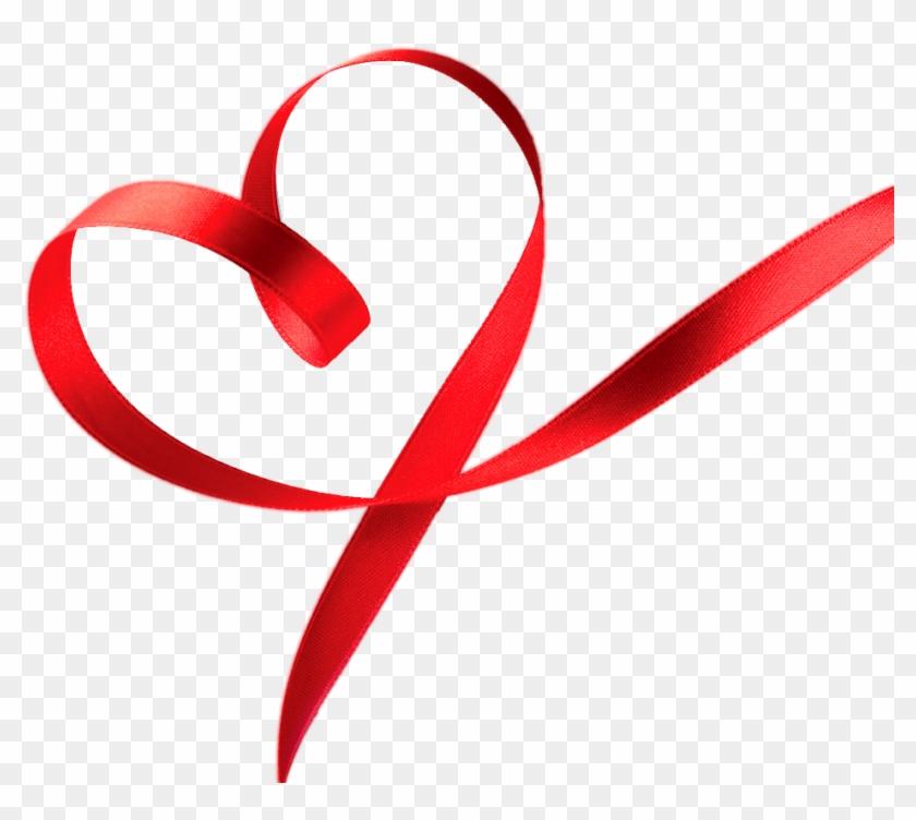 Ribbon Heart Cliparts - Ribbon Heart #95307
