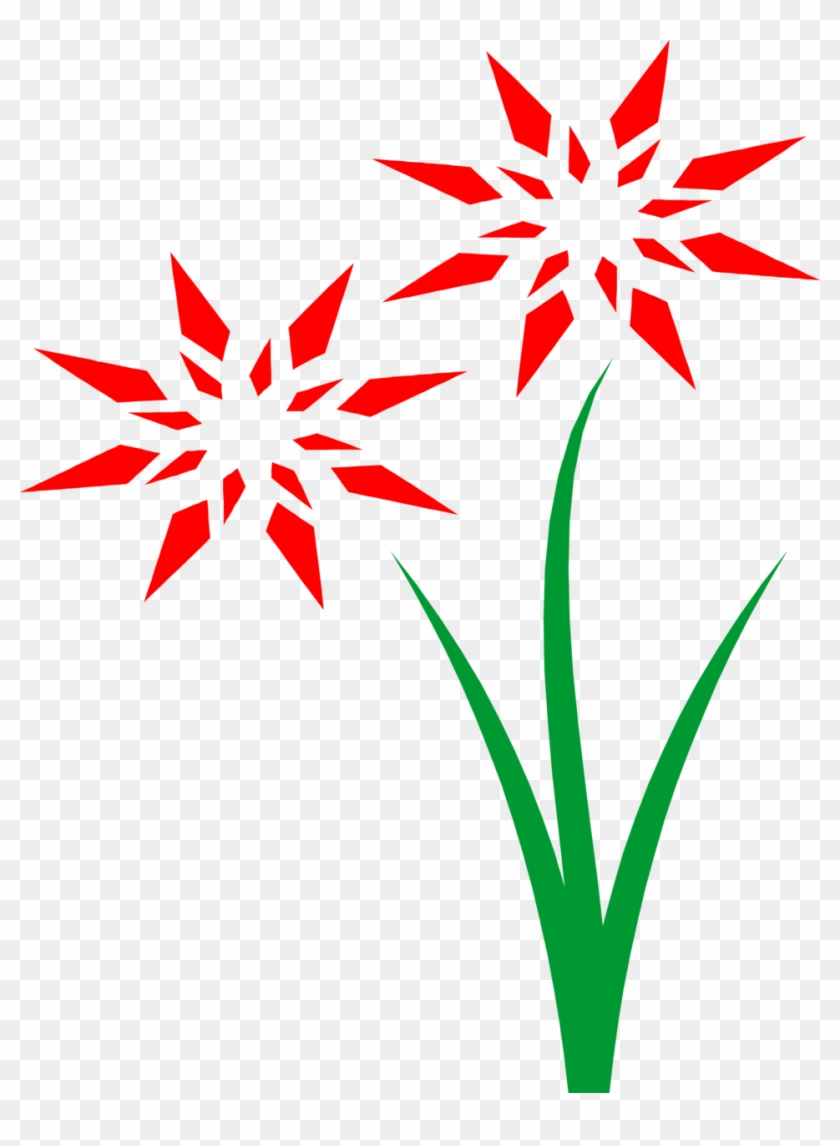 Flowers Red Free Stock Photo Illustration Of Red Flowers - Animated Flower With Transparent Background #95332