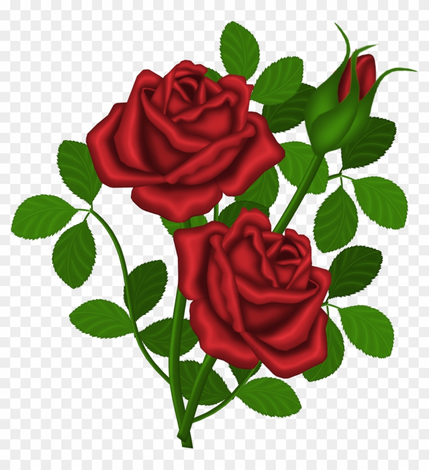 Innovation Inspiration Roses Clipart Red Png Picture - Roses Clipart #95361