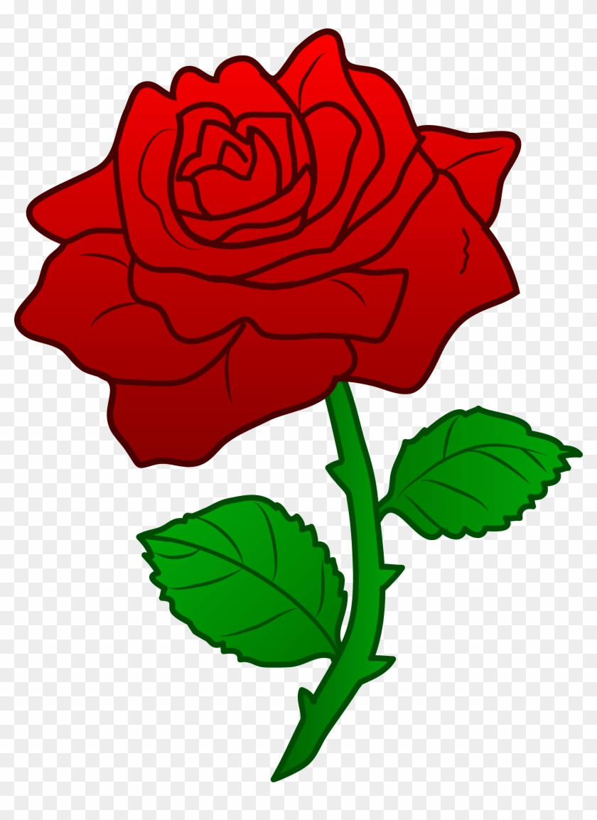 Clipart Rose - Rose Beauty And The Beast Png #95430