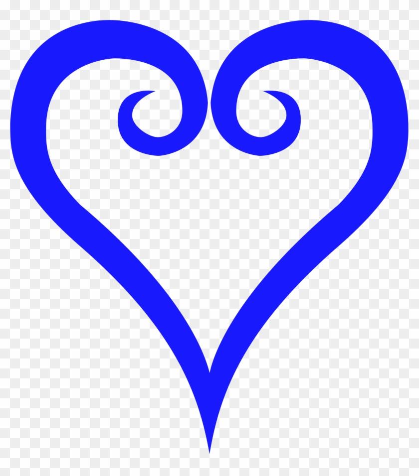 Fancy Heart Symbols , File - Kingdom Hearts Heart Symbol #95414