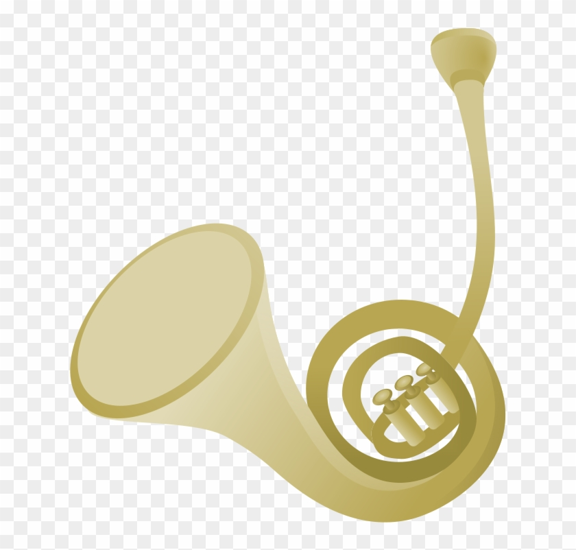 Free French Horn Clip Art Kwibek Clipart - French Horn Simple #95416
