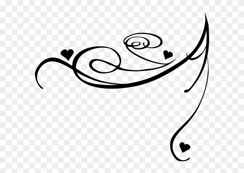Decorative Swirl Clip Art At Clker - Swirls Clipart #95426