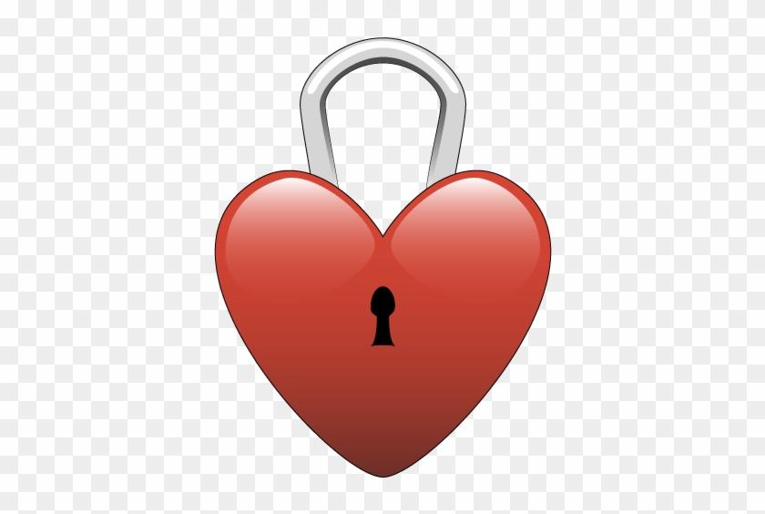 Heart Lock Clip Art Znnqtatf - Clipart Lock #95448