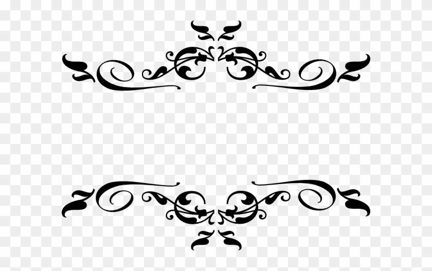 Filigree Border - Clipart Best - Decorative Elements Clip Art #95471