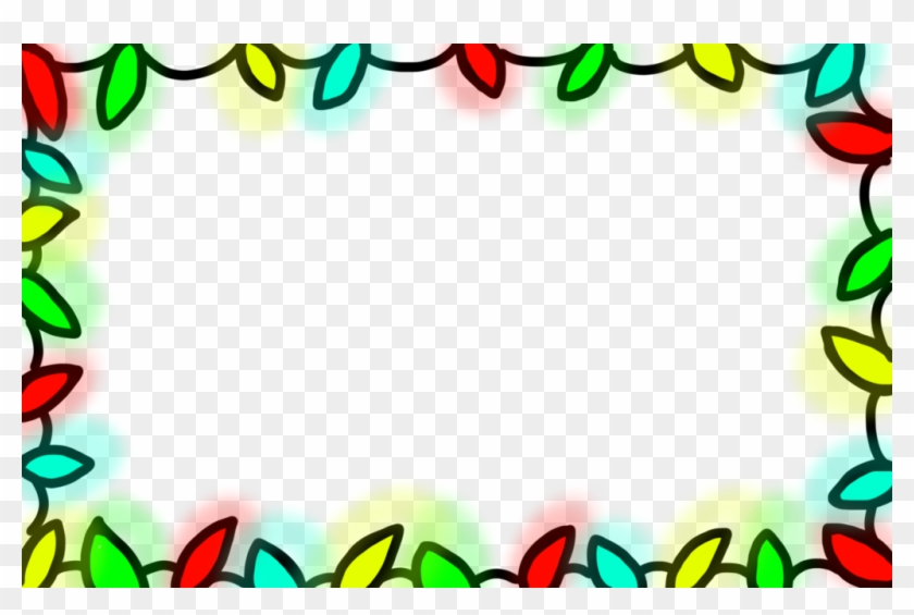 Free To Use Holiday Lights Border By Princess-corrine - Free To Use Holiday Lights Border By Princess-corrine #95515