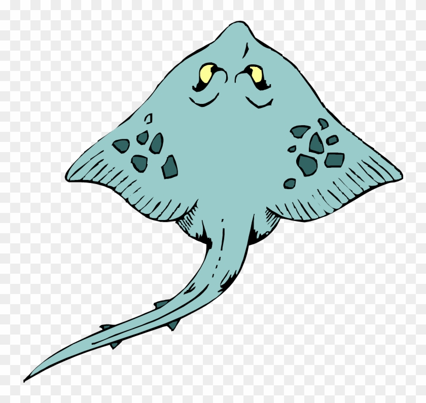 Stingray Clip Art - Stingray Clipart Png #95575