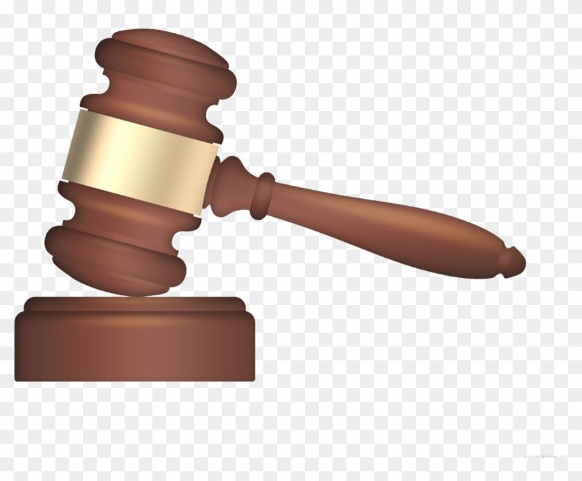 Court Hammer Png Hd - Transparent Background Gavel Clipart #95620