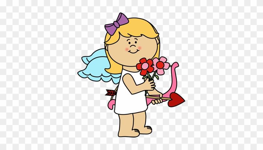 Girl Cupid - Cupid Clip Art #95693
