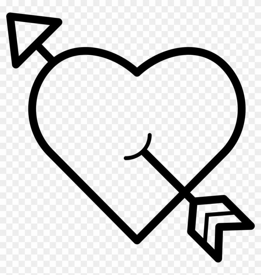 Heart Pierced By An Arrow Comments Heart With An Arrow Through