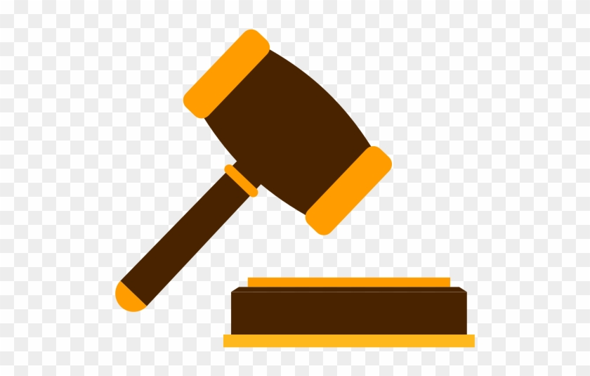 Gavel Png Image With Transparent Background - Hammer Auction Icon #95694