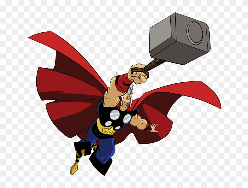 Thor Clipart Clipart Panda - Avengers Earth's Mightiest Heroes Thor #95705