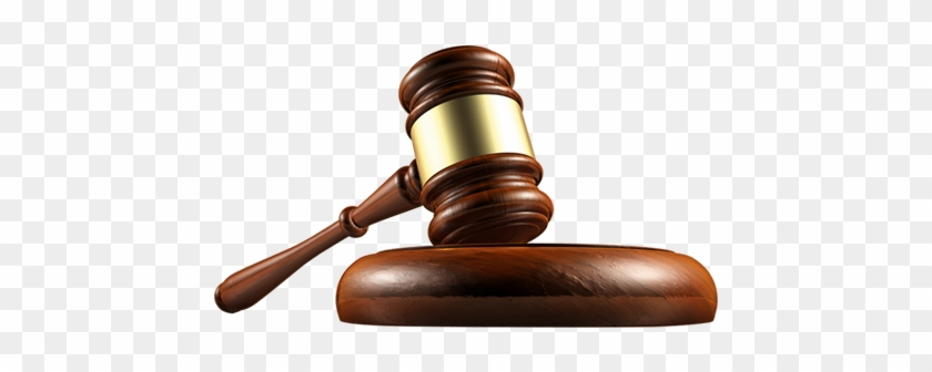 Objects - Transparent Background Gavel Png #95707