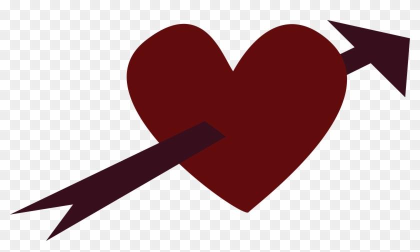 Arrow Through Heart Image - Heart #95719