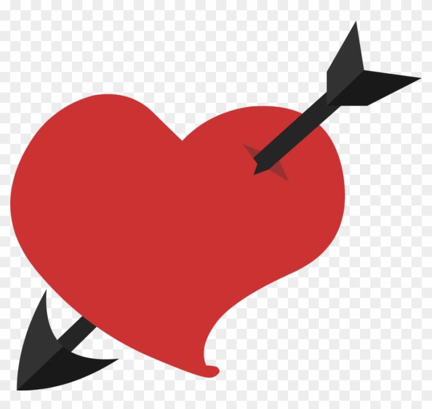 Arrow Heart's Cutie Mark By Furrikira - Mlp Heart Cutie Mark #95762