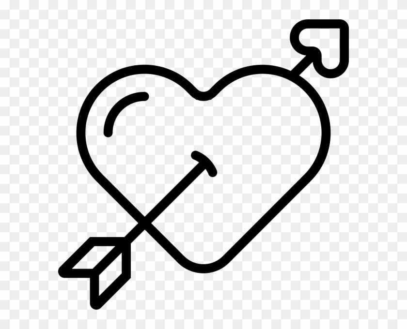 Heart Arrow Rubber Stamp Heart Free Transparent Png Clipart